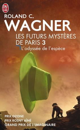 """Résultat de recherche d'images pour """"L'Odyssée de l'espèce de Roland C. Wagner cover"""""""