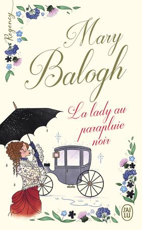 La lady au parapluie noir